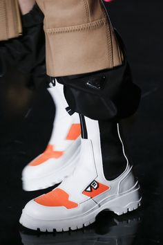 Prada Fall 2018 Ready-to-wear Fashion Show Details - Prada Shoes Mens - Ideas of Prada Shoes Mens - Prada Fall 2018 Ready-to-wear Fashion Show Details Prada Sneakers, Prada Shoes, Men's Shoes, Shoe Boots, Shoes Sneakers, Shoe Bag, Fashion Shoes, Fashion Accessories, Mens Fashion