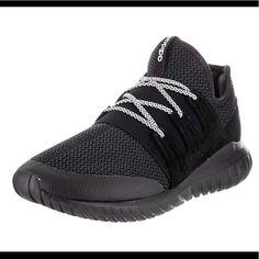 online retailer cca8d 51ef4 adidas Shoes   Adidas Men S Tubular Radial Fashion Sneaker   Color  Black    Size
