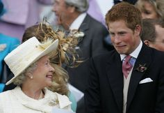 Pin for Later: Proof That Prince Harry Is a Real-Life Prince Charming Even the Queen Smiles Around Him Back in 2005, Queen Elizabeth II couldn't help but laugh at her goofy grandson.