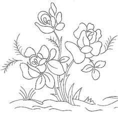 Embroidery Pattern from broderieantan.canalblog.com. jwt