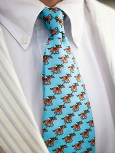 Derby tie- Maybe Mike will wear this :)