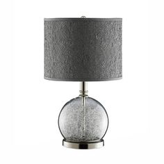 I pinned this Gosfield Accent Lamp from the Peppermint  Pewter event at Joss and Main! --Concept Candie Interiors offers virtual interior design services