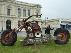 Steampunk Oamaru, New Zealand