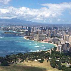 Waikiki, Oahu, HI (View from Diamond Head)