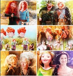 #Brave #OUAT most of the brave characters looked pretty similar in ouat but the queen didn't do so well