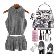 """""""Shein"""" by simona-altobelli ❤ liked on Polyvore featuring Keds, Lauren Conrad, Smashbox, Max Factor, Topshop, women's clothing, women's fashion, women, female and woman"""
