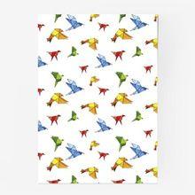 Постер «птицы оригами»
