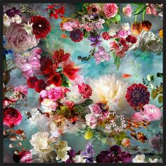 Dream River picture from the series Distorted Nature by Isabelle Menin, artist of category FINE WORKS at photo art editions LUMAS Art Floral, Motif Floral, Vintage Floral, Art Amour, Photo D Art, Art Abstrait, Flower Wallpaper, Art Auction, Diy Painting