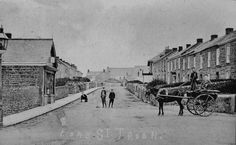 Fore Street Troon, Camborne, England Cornwall England, Family History, Places Ive Been, The Past, Places To Visit, Louvre, Adventure, Black And White, Ancestry