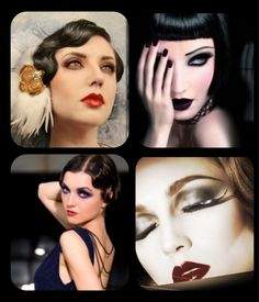 1920's inspired makeup