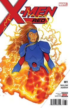HOLY CRAP THIS COVER IS GORGEOUS!! Jean Grey X-Men Red .... she will lead her own team when she comes back woot!