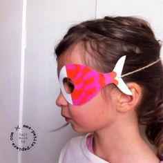 Diy masque poisson d'avril Plus