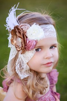 Vintage Elegance Couture Collection Lace Headbands