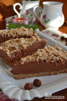 No Salt Recipes, Sweet Recipes, Cake Recipes, Dessert Recipes, Yummy Drinks, Delicious Desserts, Yummy Food, Hungarian Recipes, Sweet And Salty