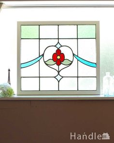 Snowman, Decor, Glass, Stained Glass, Stain, Frame, Home Decor