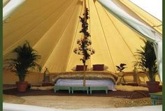 Image result for bell tent bath