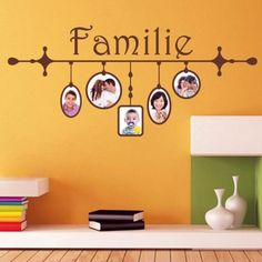 Series of emotions In one line hook 3 or 5 images, each of which show you, a family member or the whole family in a series of emotions, so the pictures reflect your different faces. This idea is suitable if you want to arrange the photo wall in the nursery.