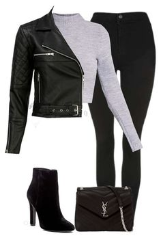 Winter Fashion Outfits, Edgy Outfits, Cute Casual Outfits, Look Fashion, Winter Outfits, Casual College Outfits, Fashion Goth, Jugend Mode Outfits, Mode Kpop
