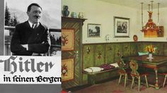 """Interior design junkie Adolf Hitler invented the modern politician's at-home interview. Readers and writers alike are easily enchanted by the idea of meeting a powerful leader in their private residence. But the origin of this PR tactic is sobering. Just before the outbreak of World War II, the New York Times Magazine published a long, favorable article about Hitler's """"unobtrusively elegant"""" Berghof mountain retreat, #Hitler #AdolfHitler #Nazis #Nazi #InteriorDesign #politics #home #Bavaria"""