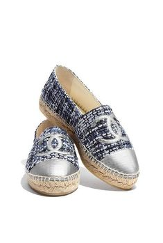 100% authentic eba06 bb43b 57 Espadrilles To Copy Right Now. Chanel Shoes ...