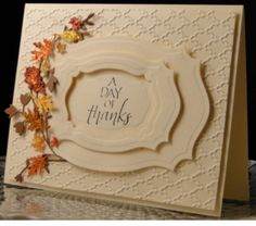 Leaf Cards, Fall Cards, Holiday Cards, Christmas Cards, Thanksgiving Cards, Sympathy Cards, Anniversary Cards, Halloween Cards, Creative Cards