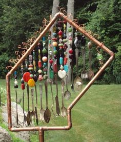 Amazing wind chime - Oh I LOVE THIS!