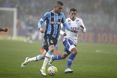 Luan disse que dores não preocupam (Foto: Lucas Uebel/Grêmio)