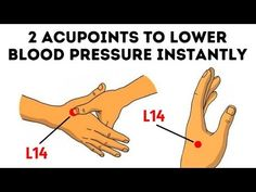 When I Have A High Blood Pressure, I Use This Pressure Point Technique