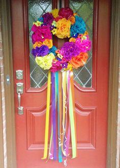 How-To: DIY Fiesta Wreath Final Look