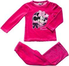 Minnie Mouse - Minni Hiiri, Pitkähihainen yöpuku, Pinkki, koko 104 cm. 14,93 €