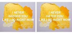 make me (cry)// noah cyrus ft. labrinth