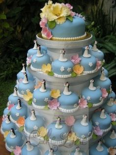 Mini Cake Tower