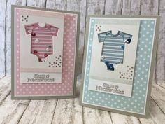 #GDP024 Babykarte Geburt Schüttelkarte rosa hellblau