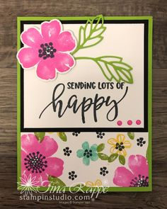 Pretty Perennials One Sheet Wonder Cards - Stampin' Studio One Sheet Wonder, Perennials, Stampin Up, Birthday Cards, Card Making, About Me Blog, Templates, Studio, Frame