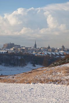 Edinburgh from Holyrood Park, Scotland