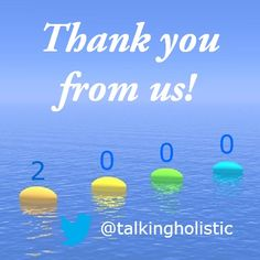 We are delighted to have reached 2,000 followers on Twitter! As a Holistic Social Media agency we tweet regular Social Media tips for Holistic businesses on our Twitter feed. If you are following our boards and use Twitter please come and visit us at Twitter handle 'TalkingHolistic'. Click on the image to open a link to our Twitter profile!