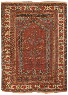 17th century, Turkish, Kula rug