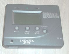 Guitar Research Chromatic JC200 Tuner Pitch Manual Automatic AAA Batteries  | eBay