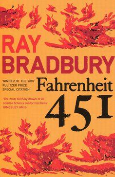Fahrenheit 451 (Flamingo Modern Classics) by Ray Bradbury. Read 4 their all classics. Fahrenheit 451, John Green, Books To Read, My Books, Roman, Brave New World, Fiction Books, Great Books, Modern Classic