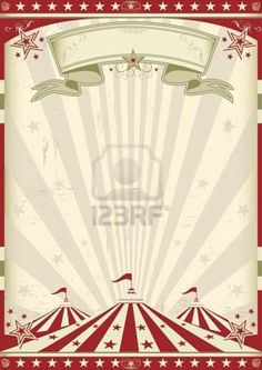 A Circus Vintage Poster For Your Advertising Royalty Free Cliparts, Vectors, And Stock Illustration. Image 11823067.