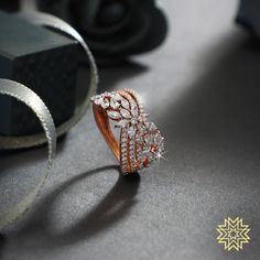 A statement ring to add some sparkle and sass.