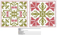 Cross-stitch Biscornu ... no color chart available, just use pattern chart as your color guide.. or choose your own colors...    Gallery.ru / Фото #144 - бискорню - irisha-ira