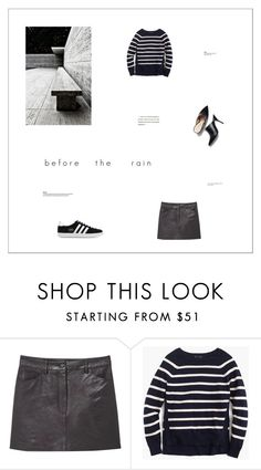 """""""Untitled #554"""" by zitanagy ❤ liked on Polyvore featuring MANGO, J.Crew, adidas Originals and 3.1 Phillip Lim"""