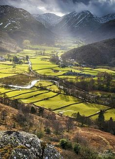 England Travel Inspiration - Borrowdale, Lake District - Lake District & Cumbria, UK so stunningly beautiful Cumbria, Lake District, Beautiful World, Beautiful Places, Stunningly Beautiful, Places To Travel, Places To See, England And Scotland, To Infinity And Beyond