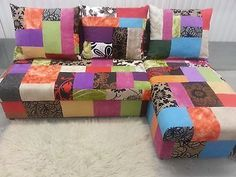 SALE !!! BRAND NEW CORNER SOFA BED in PATCHWORK !!!