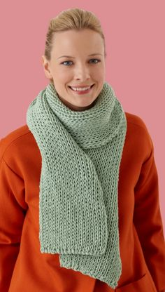 Loom Double Knit Scarf