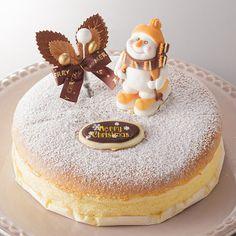 雪景色の様なトッピングのチーズケーキ。【チーズスノー】