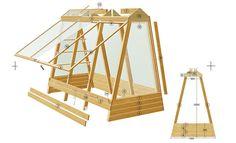 Platzsparendes Gewächshaus bauen