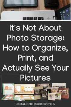 It's Not About Photo Storage: How to Organize, Print, and SEE Pictures Storage means putting away. That's not what pictures are for. It's Not About Photo Storage: How to Organize, Print, and SEE Pictures Picture Storage, Old Family Photos, Family Pictures, Foto Fun, Family Organizer, Storage Organization, Scrapbook Organization, Organizing Tips, Photo Tips