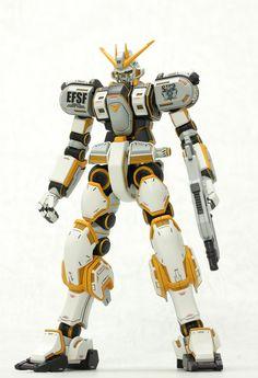 Custom Build: HG 1/144 Gundam Atlas [Detailed] - Gundam Kits Collection News and Reviews